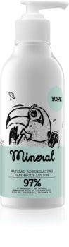 Yope Mineral feuchtigkeitsspendende Milch für die Hände
