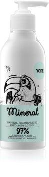 Yope Mineral latte idratante mani