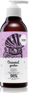 Yope Oriental Garden šampon za suhe in poškodovane lase