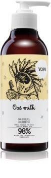 Yope Oat Milk shampoo per capelli normali senza brillantezza