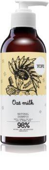 Yope Oat Milk шампоан  за нормална коса без блясък