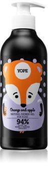 Yope Orange & Apple gel de douche apaisant pour enfant