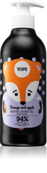 Yope Orange & Apple успокояващ душ гел за деца