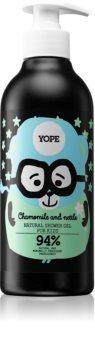Yope Chamomile & Nettle tisztító tusoló gél gyermekeknek