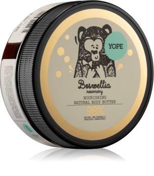 Yope Boswellia & Rosemary Nourishing Body Butter