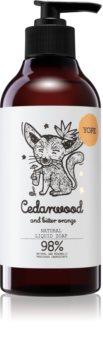 Yope Cedarwood & Bitter Orange flüssige Seife für die Hände