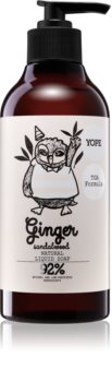 Yope Ginger & Sandalwood sapone liquido effetto lisciante