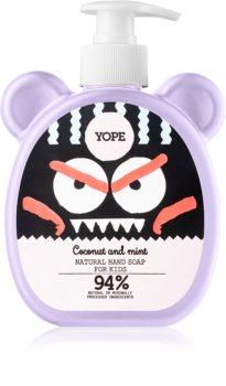Yope Coconut & Mint tekuté mýdlo na ruce pro děti