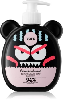 Yope Coconut & Mint tekuté mydlo na ruky pre deti