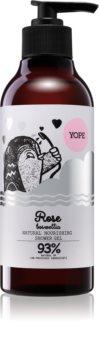 Yope Rose & Boswellia naravni gel za prhanje z hranilnim učinkom