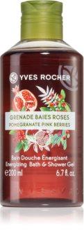 Yves Rocher Pomegranate Pink Berries energizující sprchový gel