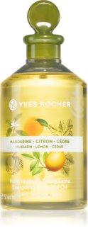 Yves Rocher Mandarin Lemon Cedar test és masszázsolaj