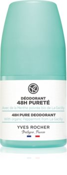 Yves Rocher 48 H Pure kuličkový deodorant roll-on