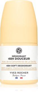 Yves Rocher 48 H Soft deodorant roll-on pro jemnou a hladkou pokožku