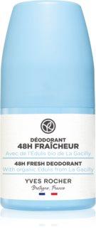 Yves Rocher 48 H Fresh osvěžující kuličkový deodorant roll-on