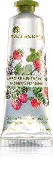Yves Rocher Raspberry & Mint energizáló krém kézre