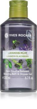Yves Rocher Lavandin & Blackberry relaxační sprchový gel
