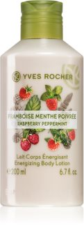 Yves Rocher Raspberry & Mint tělové mléko