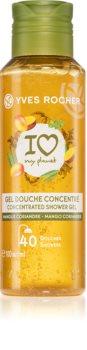 Yves Rocher I love my planet Mango Coriander energizující sprchový gel