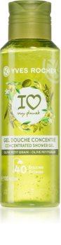 Yves Rocher I love my planet Olive Petit Grain felfrissítő tusfürdő gél