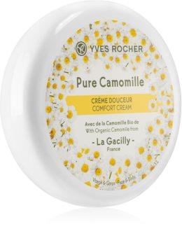 Yves Rocher Pure Calmille hydratační krém na tělo a obličej s heřmánkem