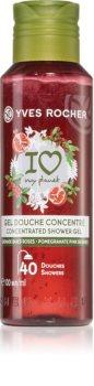 Yves Rocher I love my planet Pomegranate Pink Berries jemný sprchový gel