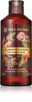 Yves Rocher Argan & Rose relaxační koupelový a sprchový gel