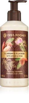 Yves Rocher Argan & Rose pečující tělové mléko