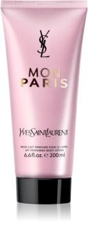 Yves Saint Laurent Mon Paris tělové mléko pro ženy