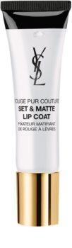 Yves Saint Laurent Rouge Pur Couture Set & Matte Lip Coat bază pentru ruj cu efect matifiant
