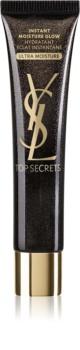 Yves Saint Laurent Top Secrets Instant Moisture Glow Ultra Moisture hidratáló és élénkítő krém normáltól az érzékeny arcbőrig 4 in 1