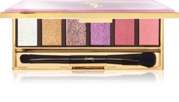 Yves Saint Laurent Shimmer Rush Palette Collector palette di ombretti e rossetti