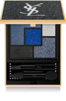 Yves Saint Laurent Couture Palette Black Opium Intense Night Edition paleta očných tieňov 5 farieb
