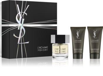 Yves Saint Laurent L'Homme подаръчен комплект XII. (за мъже)