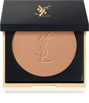 Yves Saint Laurent Encre de Peau All Hours Setting Powder kompaktní pudr pro matný vzhled