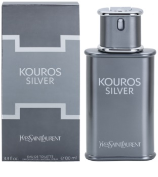 Yves Saint Laurent Kouros Silver eau de toilette para homens 100 ml