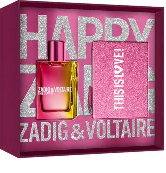 Zadig & Voltaire This is Love! Pour Elle Geschenkset I. für Damen