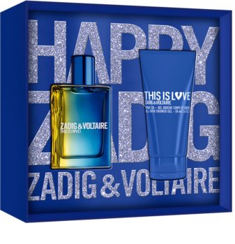 Zadig & Voltaire This is Love! Pour Lui Lahjasetti I. Miehille