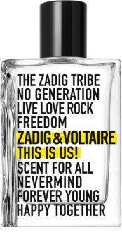 Zadig & Voltaire This Is Us! Eau de Toilette mixte
