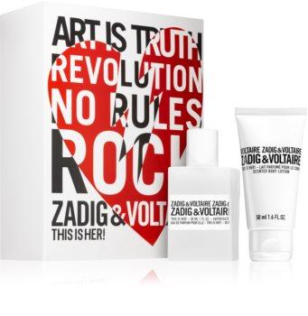Zadig & Voltaire This is Her! coffret cadeau XI. pour femme