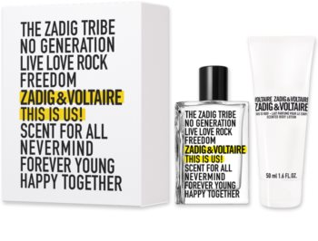 Zadig & Voltaire This Is Us! set cadou I. unisex