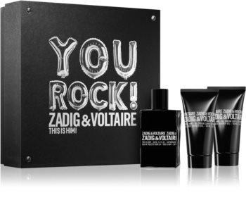 Zadig & Voltaire This is Him! Gift Set  voor Mannen