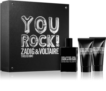 Zadig & Voltaire This is Him! Lahjasetti Miehille
