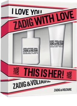 Zadig & Voltaire This is Her! coffret cadeau VII. pour femme