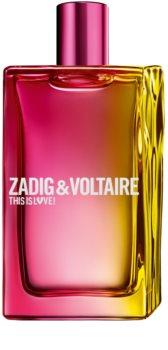 Zadig & Voltaire This is Love! Pour Elle Eau de Parfum voor Vrouwen