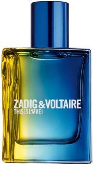 Zadig & Voltaire This is Love! Pour Lui Eau de Toilette für Herren