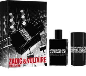 Zadig & Voltaire This is Him! Geschenkset V. für Herren