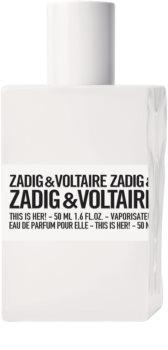 Zadig & Voltaire This is Her! woda perfumowana dla kobiet