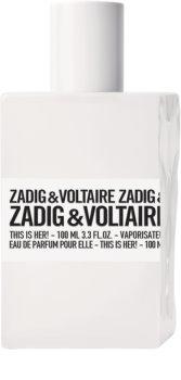 Zadig & Voltaire This is Her! Eau de Parfum hölgyeknek