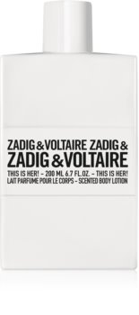 Zadig & Voltaire This is Her! leche corporal para mujer